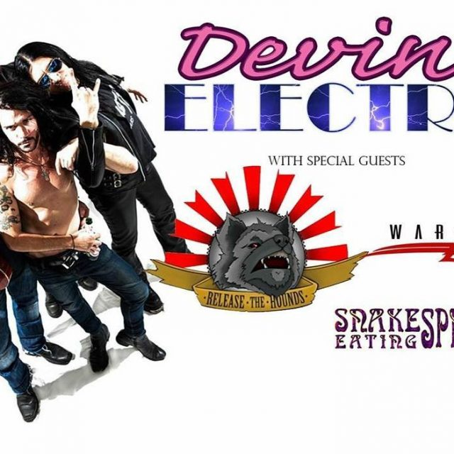 DEVINE ELECTRIC Release the Hounds Warbirds Snake Eating Spider TONIGHThellip