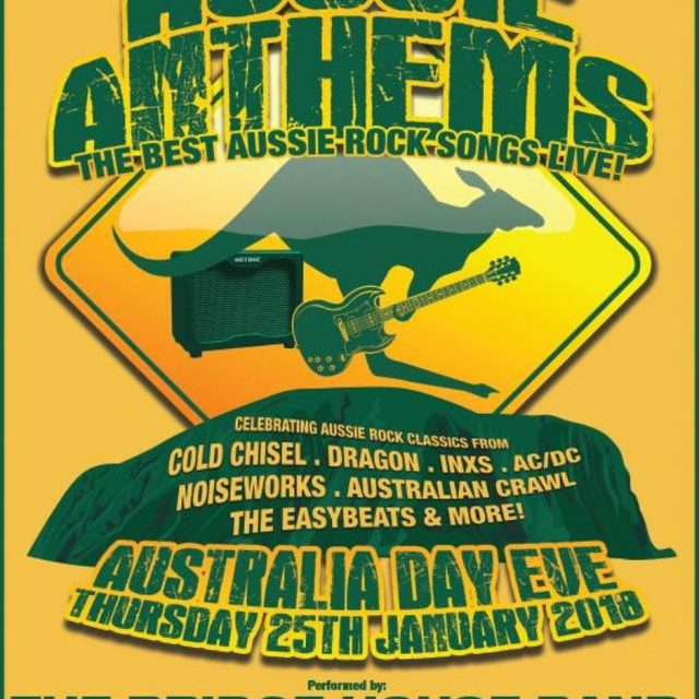 AUSSIE ANTHEMS returns to the Bridge Hotel Rozelle this Australiahellip